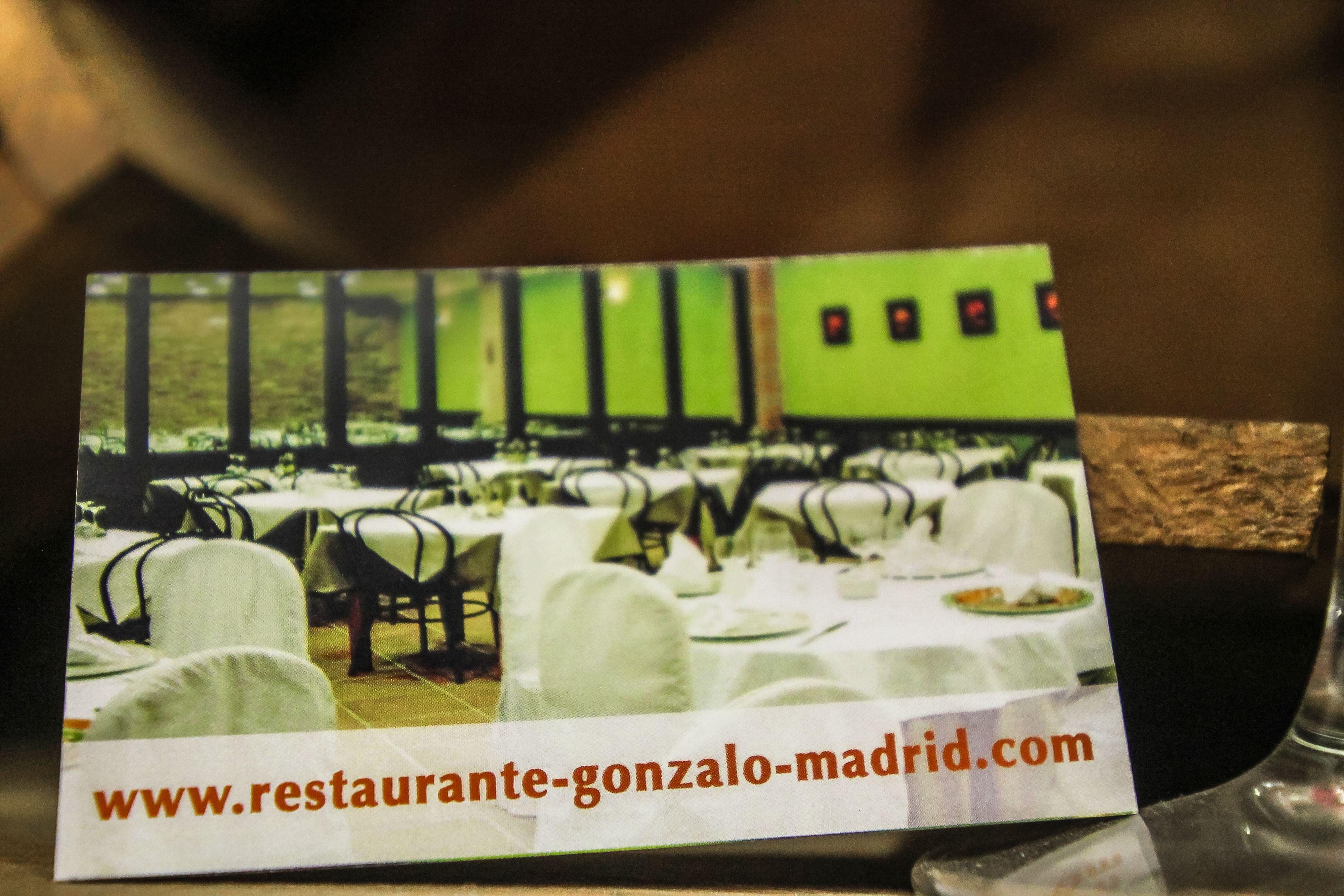 Foto 3 de Cocina castellana en Madrid | Restaurante Gonzalo