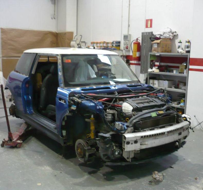 Durante nuestra reparación
