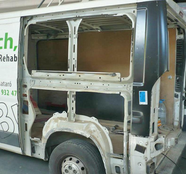 Reparación de furgoneta