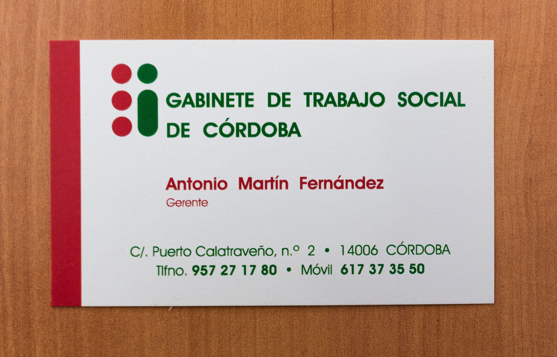 Foto 2 de Atención asistencial a personas mayores, personas con discapacidad y enfermos crónicos en Córdoba | Gabinete de Trabajo Social de Córdoba