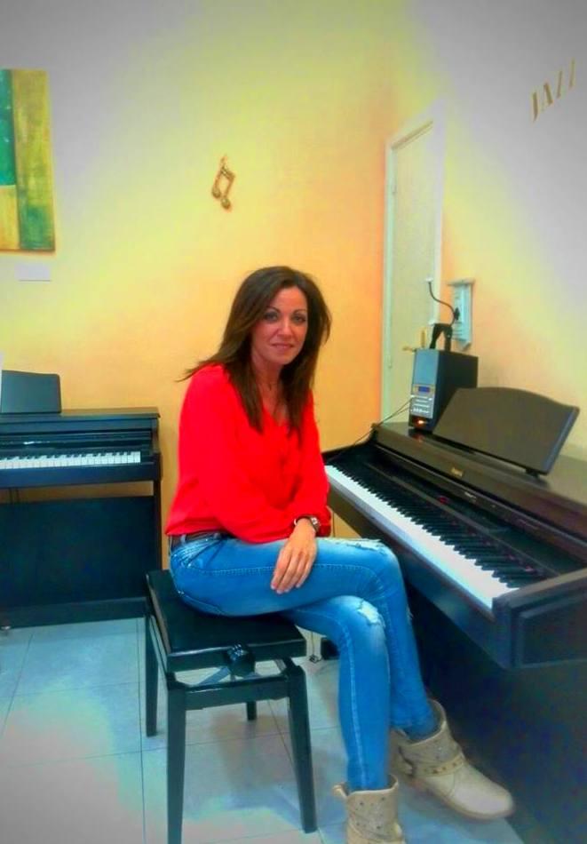 Marta, una de nuestras profesoras de piano