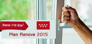 plan renove ventanas pvc 2015 madrid