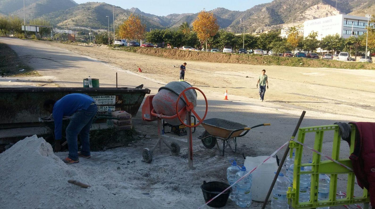Arreglos solar del Xanit, en Benalmadena
