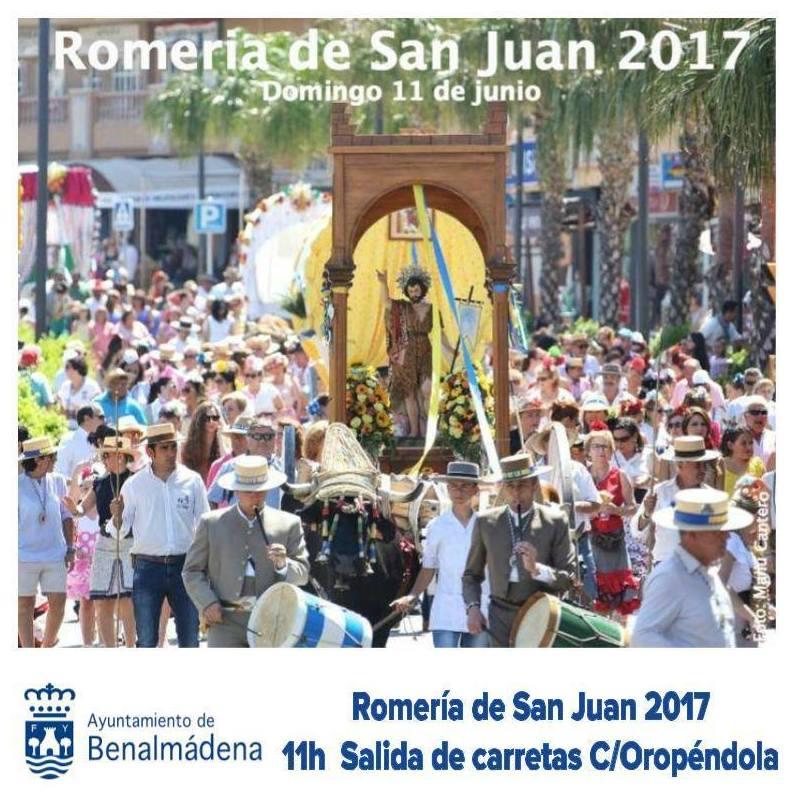 Romería de San Juan - Arroyo de la Miel 2017