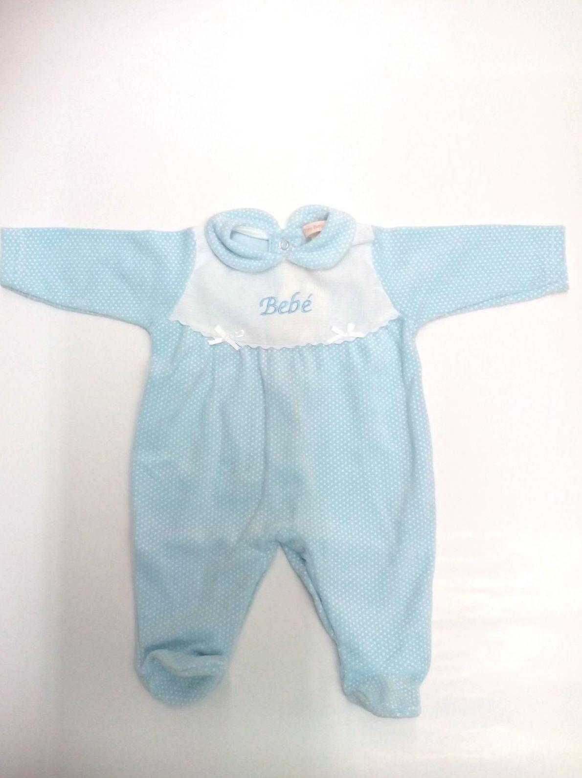 Pijama bebé azul Bebé de Popys