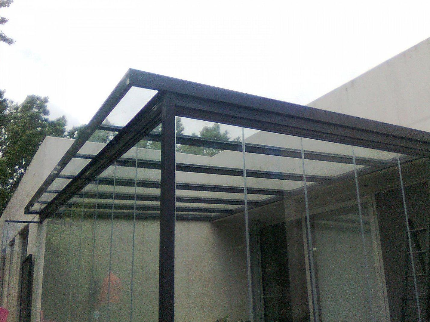Solariums con cortinas de cristal en todo Madrid