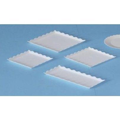 Bandejas rectangulares con ondas: Productos y servicios de Inserplas S.L.