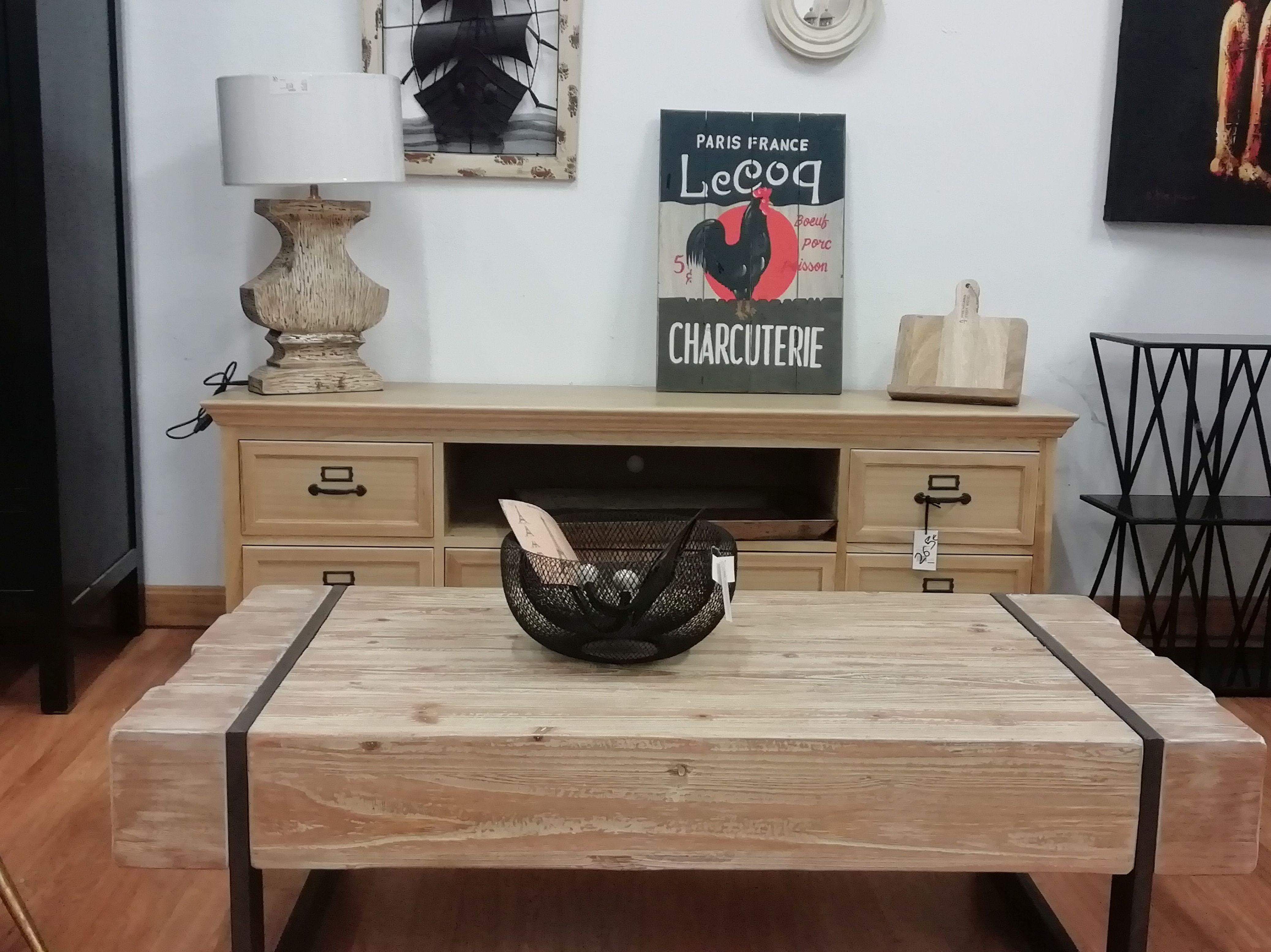 Mueble TV y mesa baja
