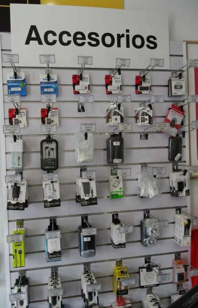 Accesorios para móviles en Valencia