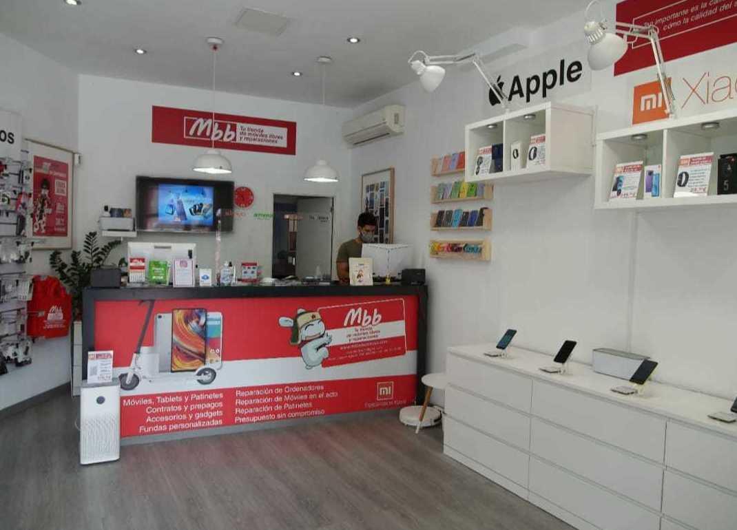 Tienda de móviles libres en Valencia