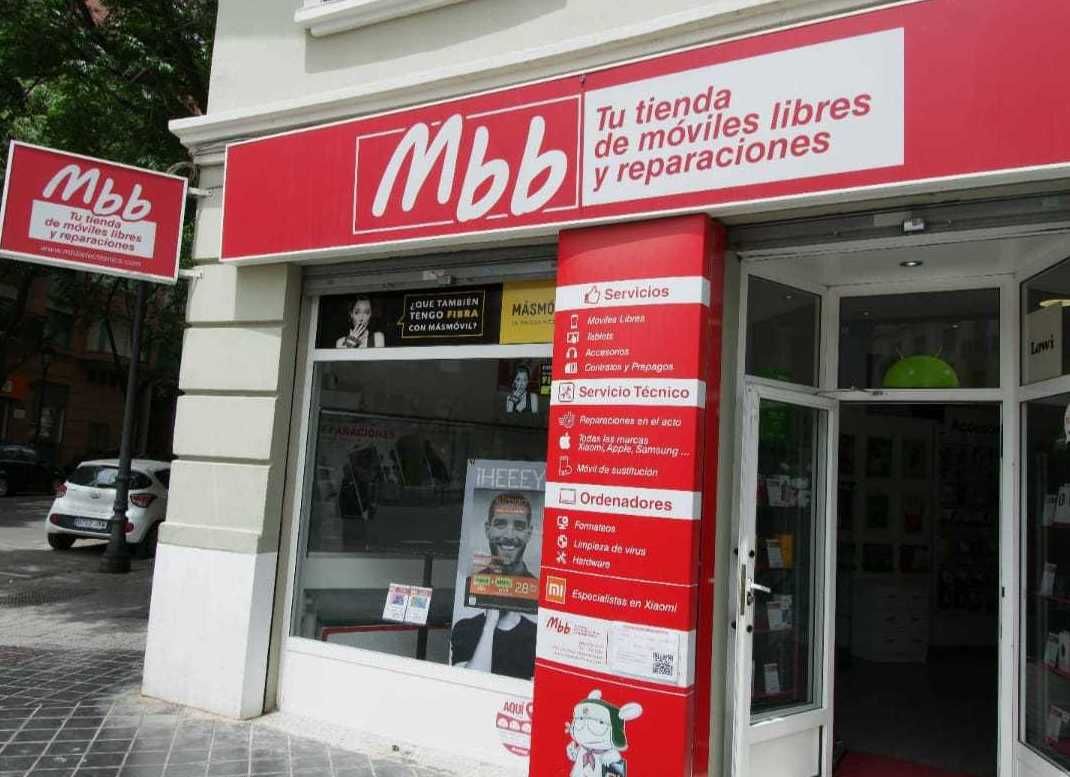 Tienda de móviles libres y reparaciones en Valencia