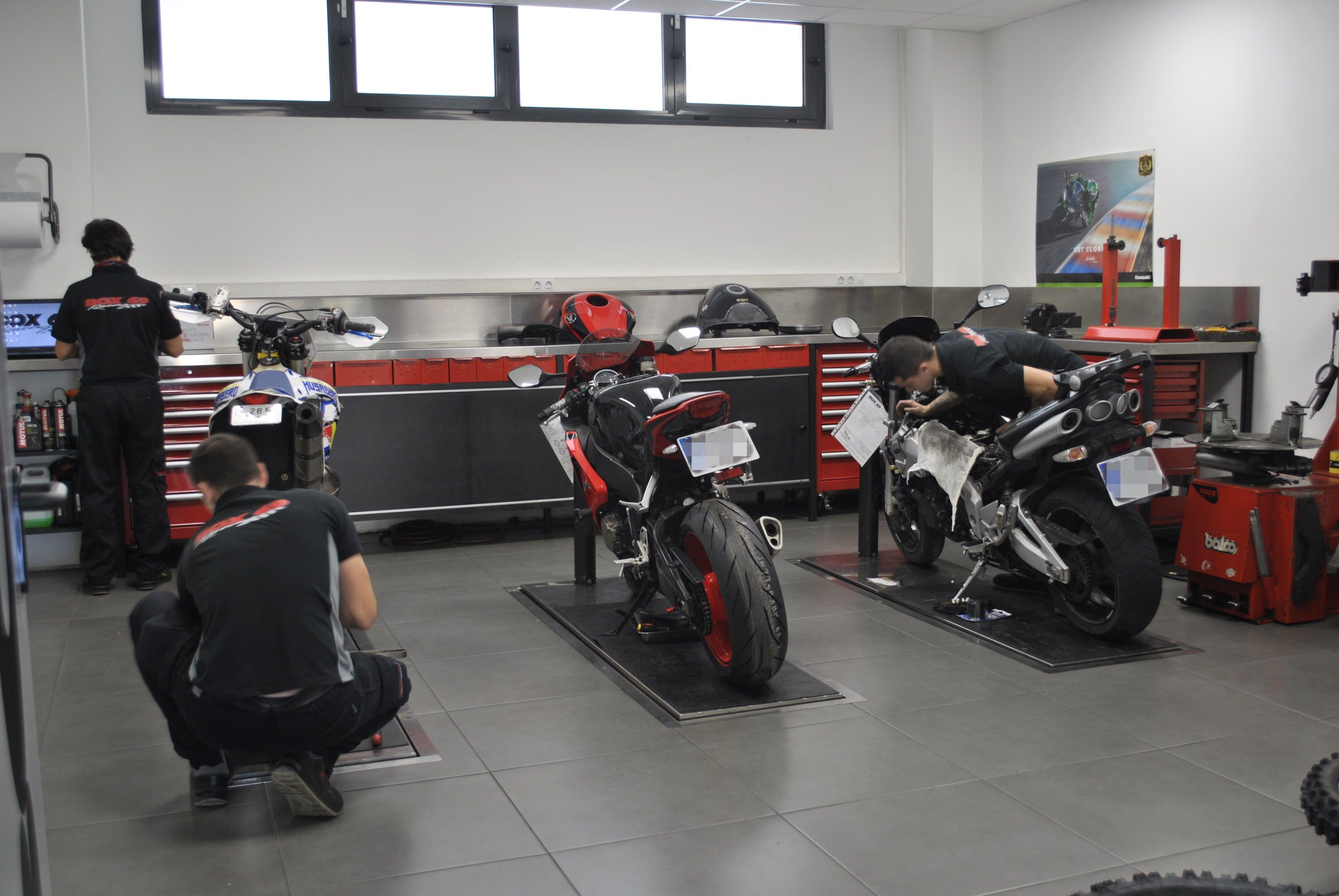 Taller y venta de motos