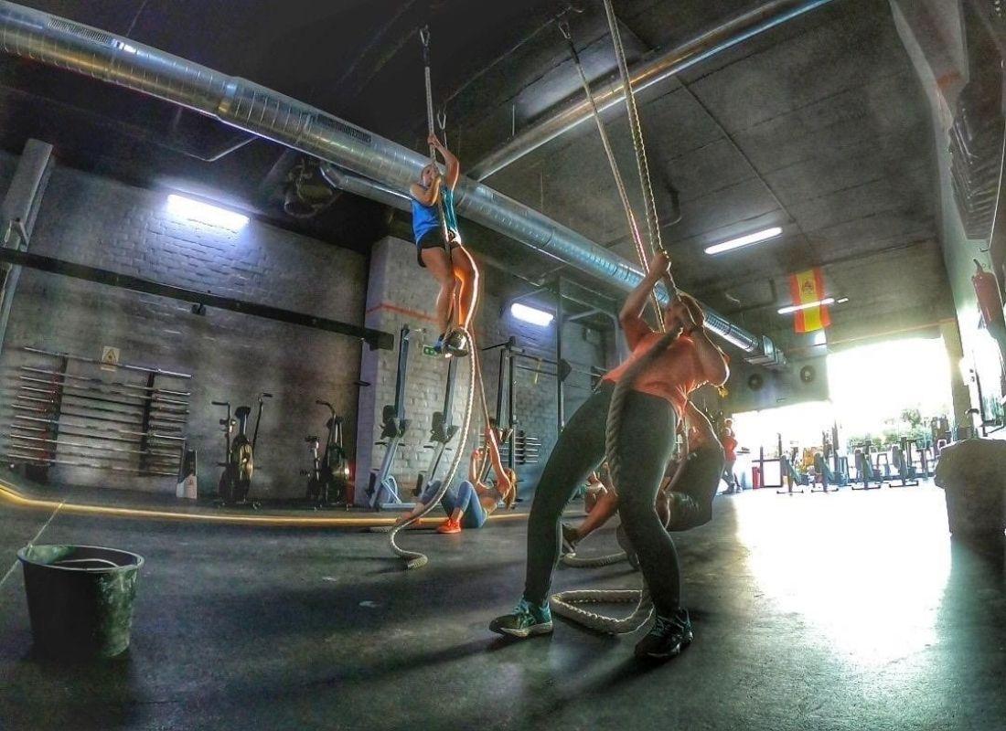 Gimnasio de entrenamiento de alta intensidad