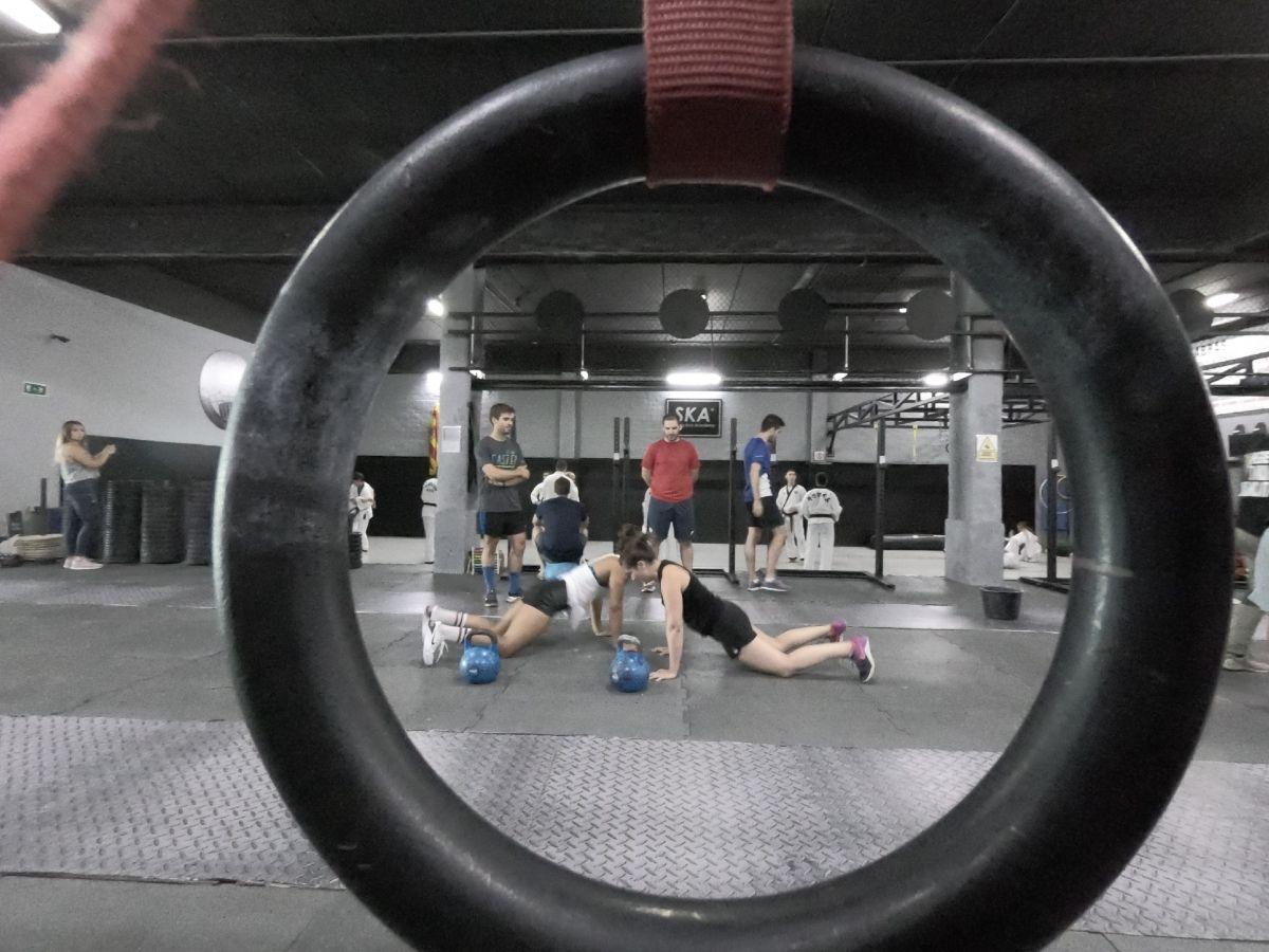 Entrenamiento de Functional Fitness y Cross Training