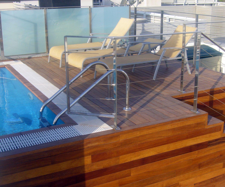 Construcción de piscinas en áticos