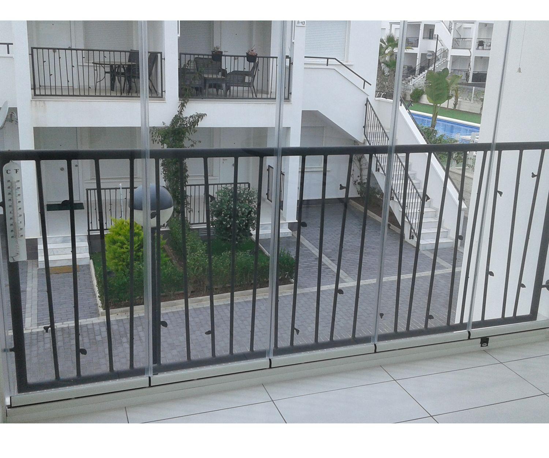 Cerramiento de terrazas con aluminiio