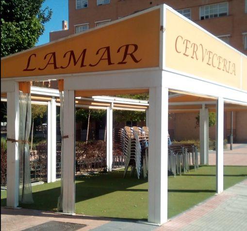 Amplia terraza en Coslada, Madrid