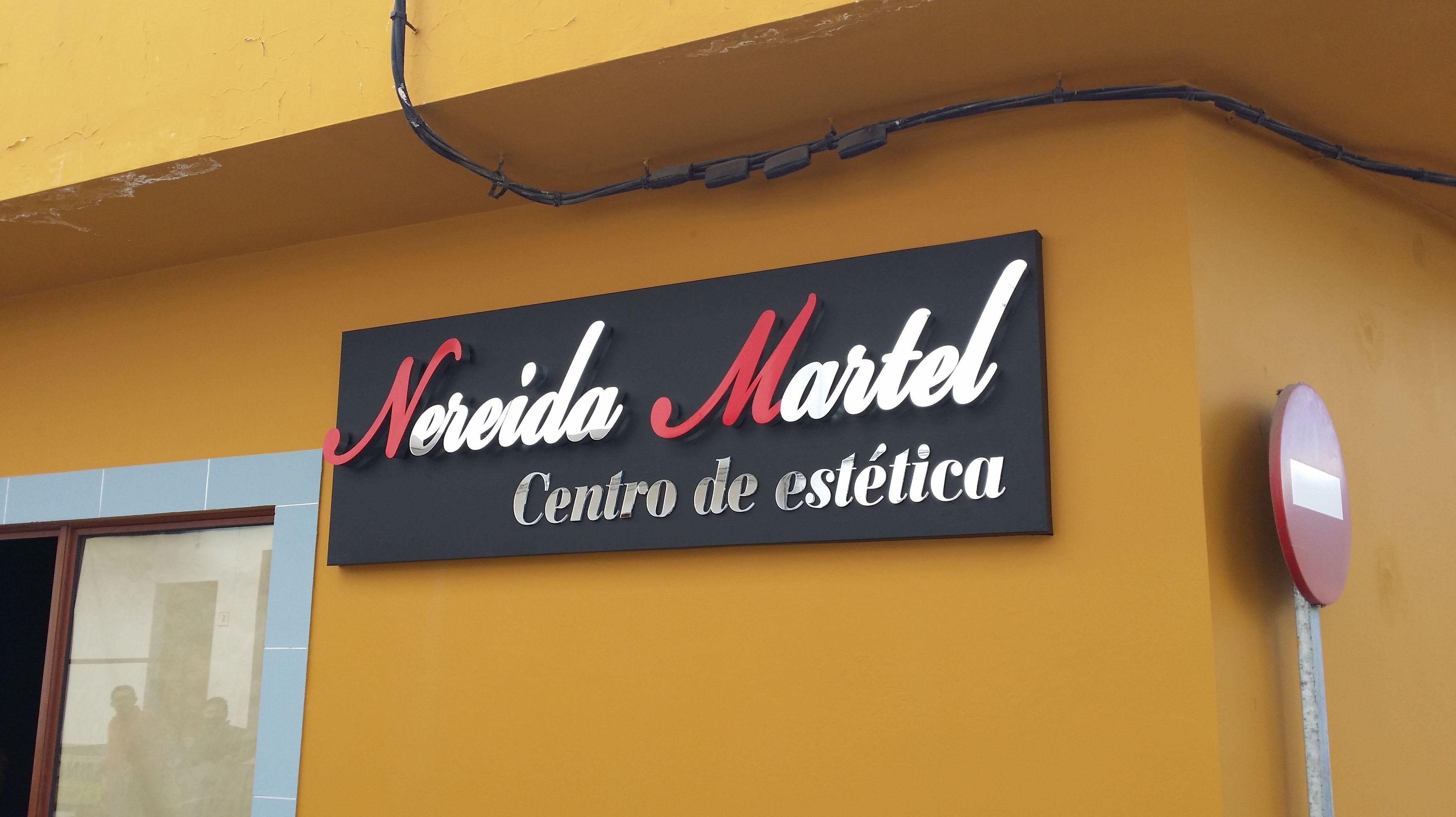 Letreros luminosos en Las Palmas de Gran Canaria