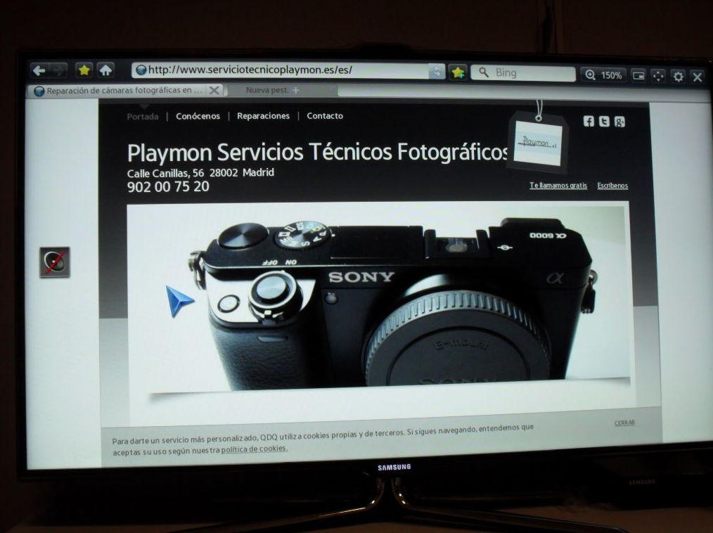 Foto 83 de Reparación de cámaras fotográficas en Madrid | Playmon Servicios Técnicos Fotográficos