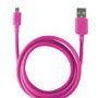 CABLE DATOS KSIX USB A MICRO USB ROSA 1,20 M : Reparaciones de Playmon Servicios Técnicos Fotográficos