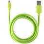 CABLE DATOS KSIX USB A MICRO USB VERDE 1,20 M : Reparaciones de Playmon Servicios Técnicos Fotográficos