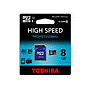 TARJETA DE MEMORIA TOSHIBA PROFESSIONAL MICRO SDHC UHS-I 8 GB CLASE 10 CON : Reparaciones de Playmon Servicios Técnicos Fotográficos