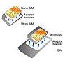 PACK ADAPTADOR 1 NANO A MICRO SIM + 1 MICRO SIM A SIM : Reparaciones de Playmon Servicios Técnicos Fotográficos