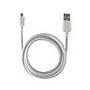 CABLE DATOS KSIX USB A MICRO USB BLANCO 1,20 M : Reparaciones de Playmon Servicios Técnicos Fotográficos