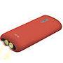 BATERIA AUXILIAR KSIX CON LINTERNA 4000 MAH + CABLE MICRO USB-USB 70 CM ROJ: Reparaciones de Playmon Servicios Técnicos Fotográficos