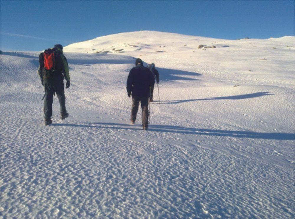 Material para esquí en Valdepeñas