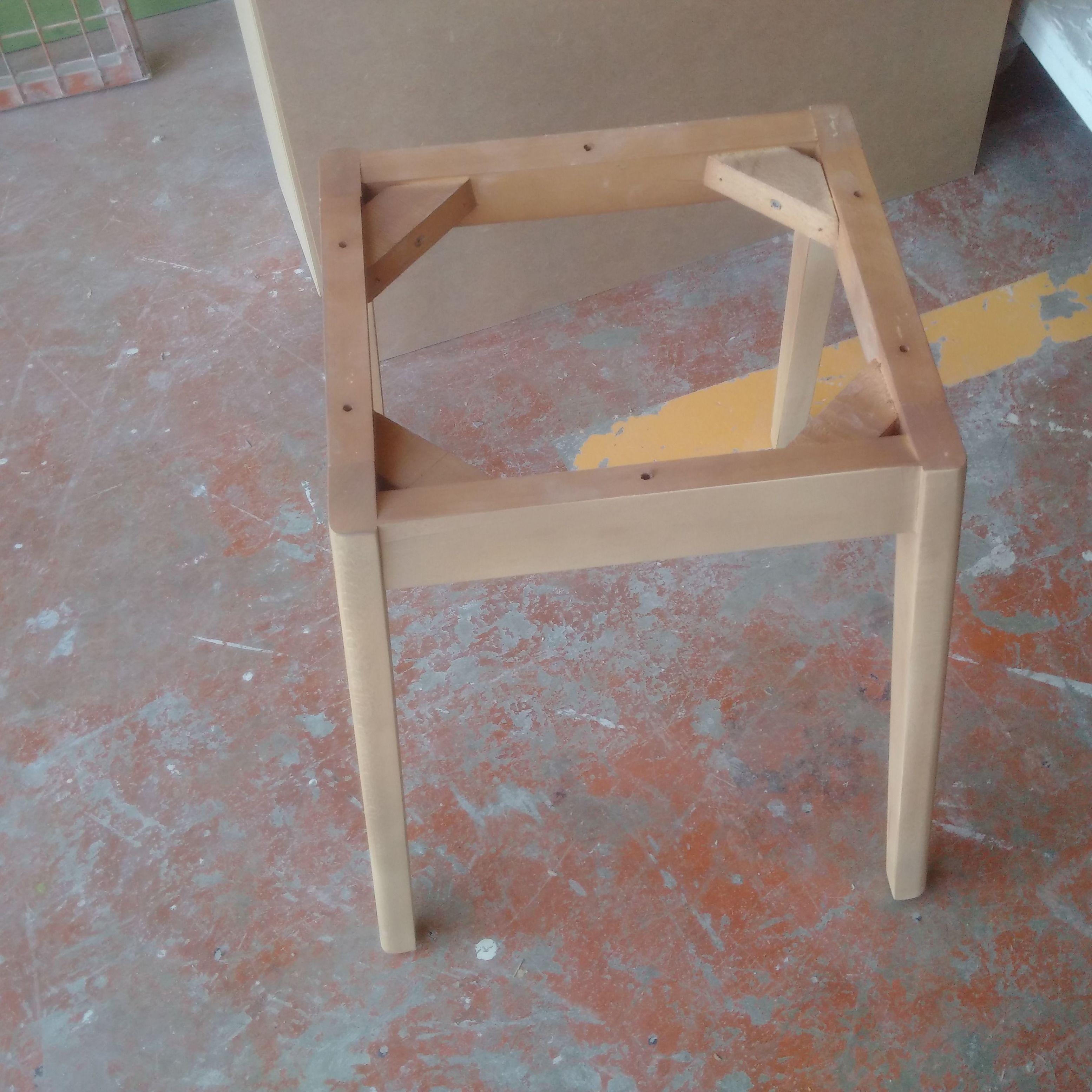 bases de sillas