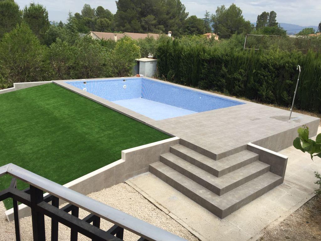 Construcción de piscinas Alcoy