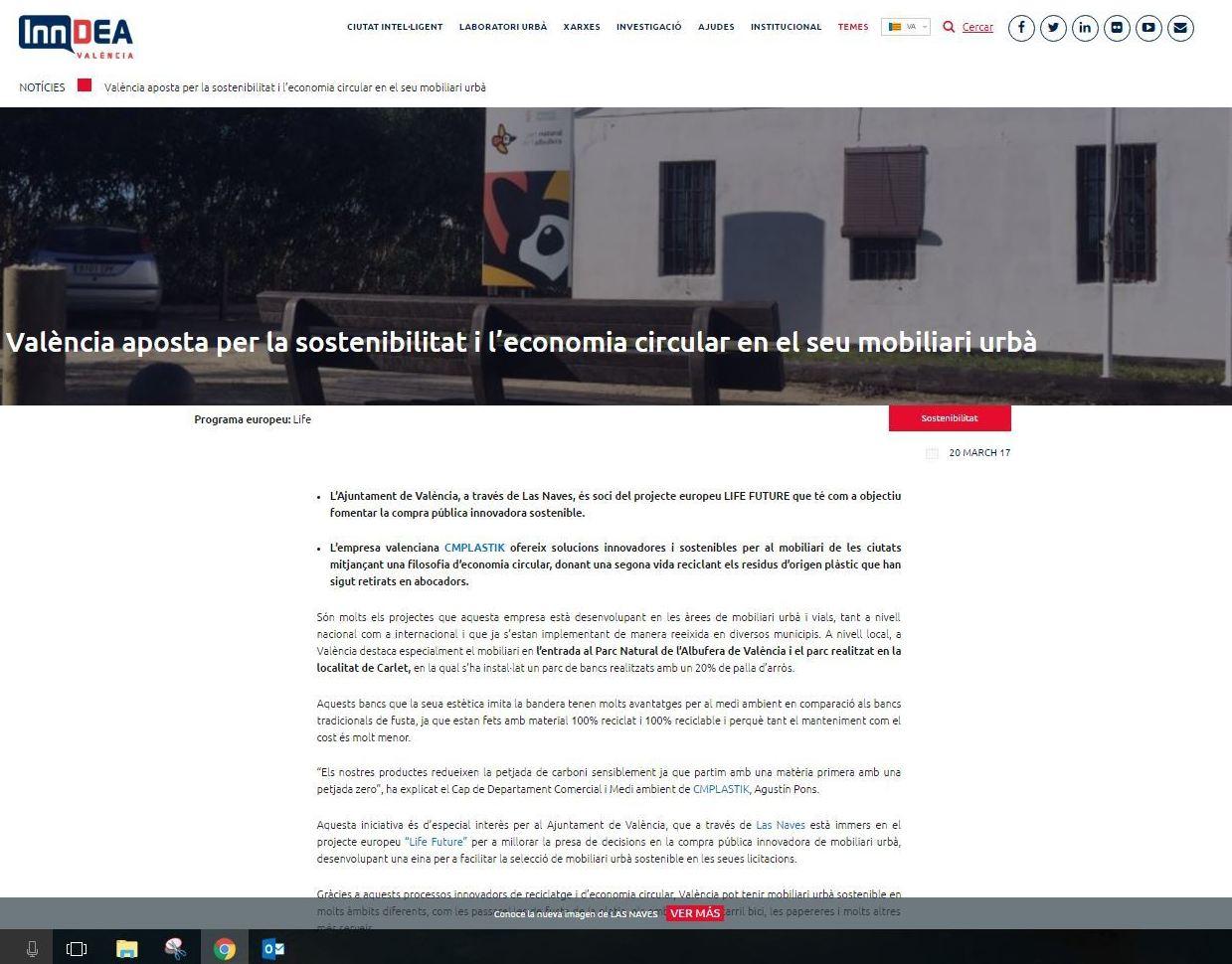 Mobiliario urbano sostenible for Ejemplos de mobiliario urbano