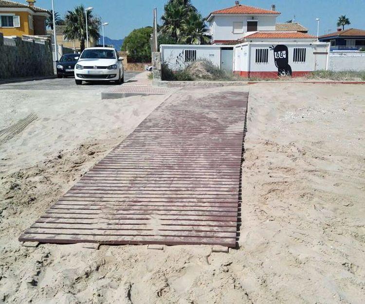 Pasarelas en Valencia