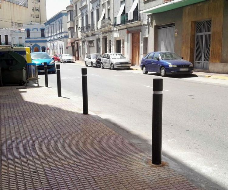 Pilonas en Valencia