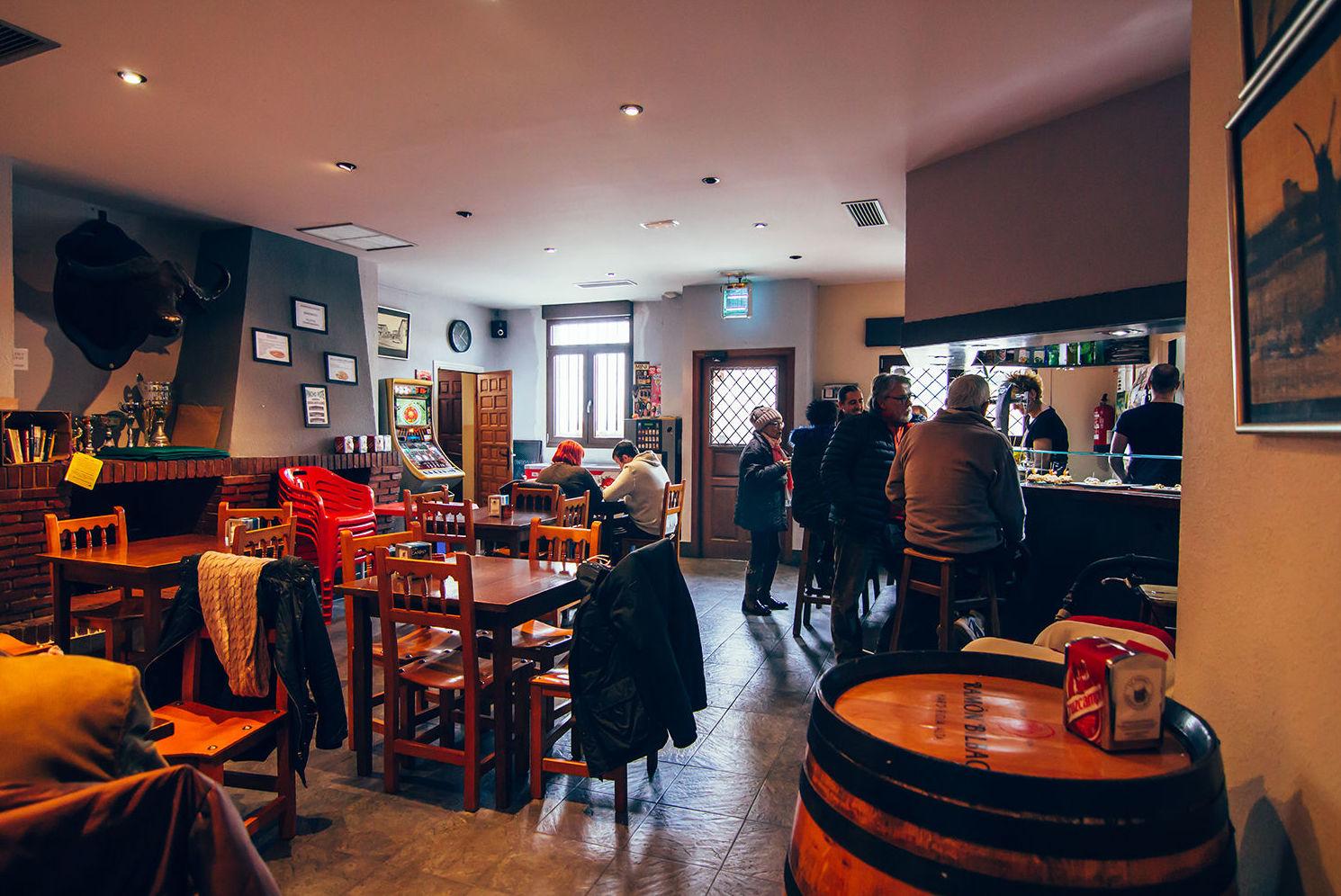 Bar Restaurante La Taberna, en el Valle de Tobalina