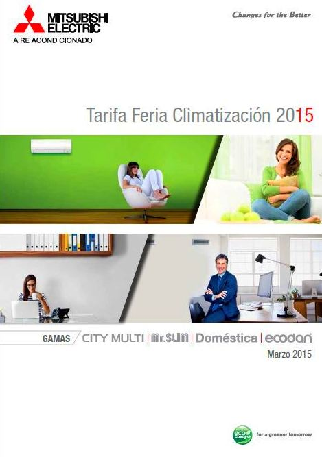 Catalogo Mitsubishi Electric 2015 Madrid