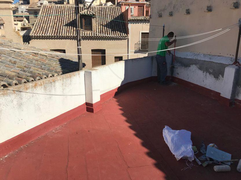 Impermeabilización de terrazas en Toledo