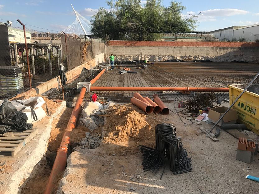 Construcción de obra nueva en Madrid sur