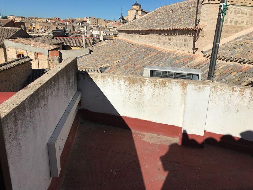 Rehabilitación de patios y terrazas en Toledo