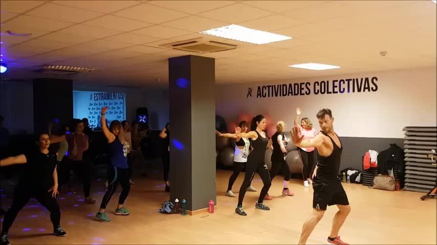 ACTIVIDADES COLECTIVAS: Servicios de Fitness Club Arganda }}