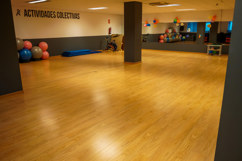 Sala actividades colectivas FITNESS CLUB ARGANDA