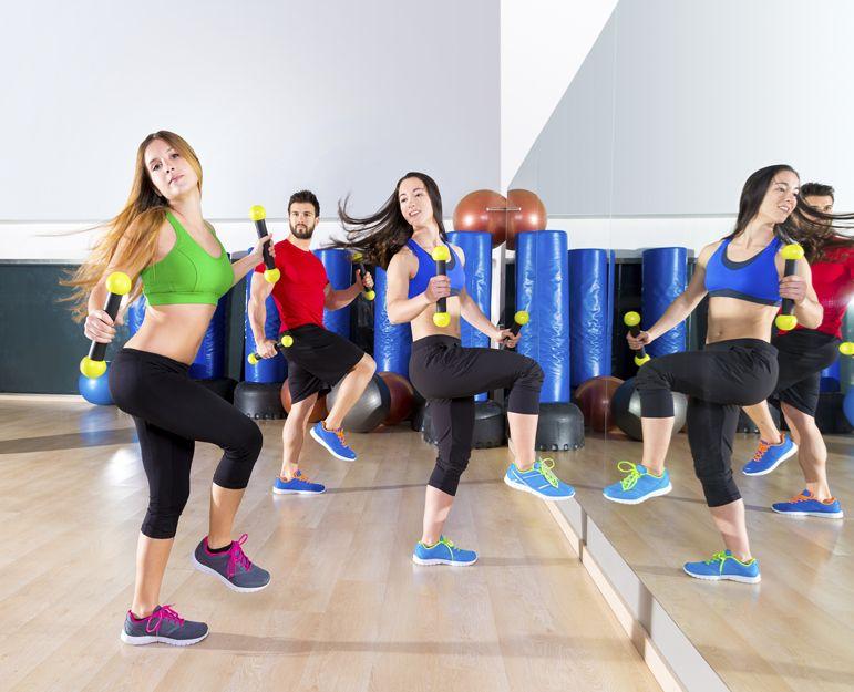 Clases colectivas de fitness en Arganda del Rey