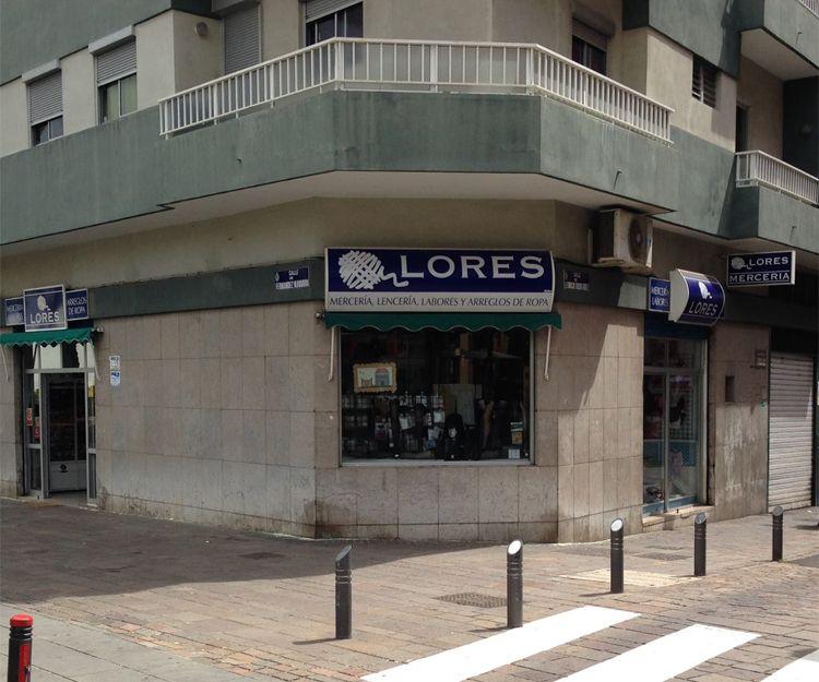 Fachada de nuestra mercería en Santa Cruz de Tenerife