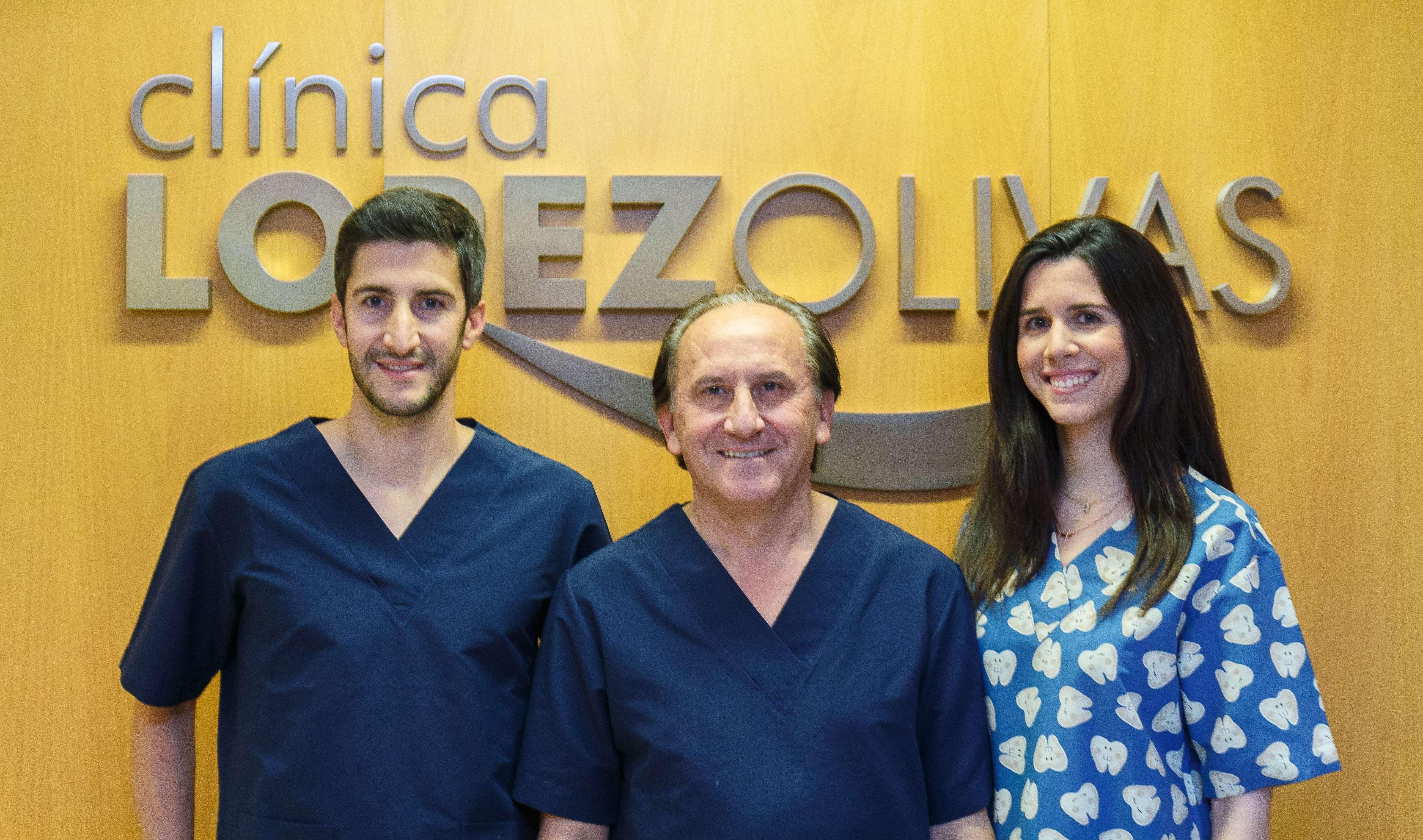 Dr. Lopez Olivas e hijos