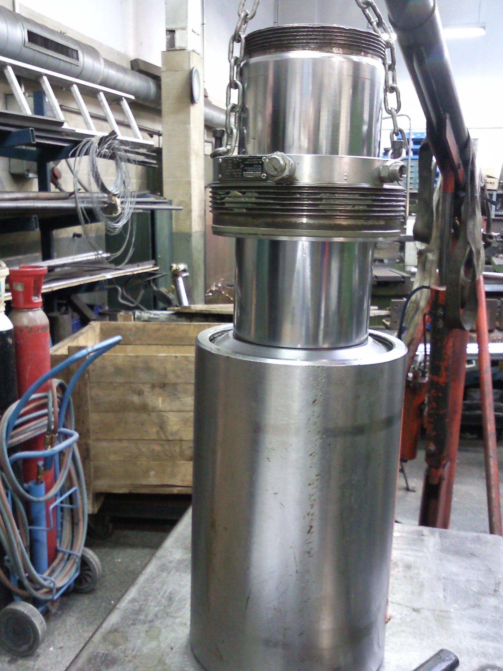 Hidráulico tensor de varillas de presión a 350 bares