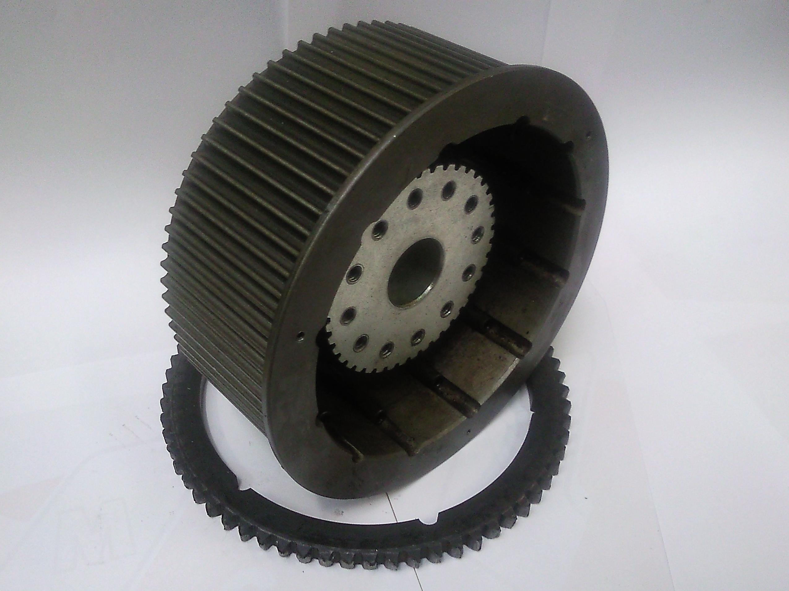 Muestra de fabricación de construcción de discos para tambor