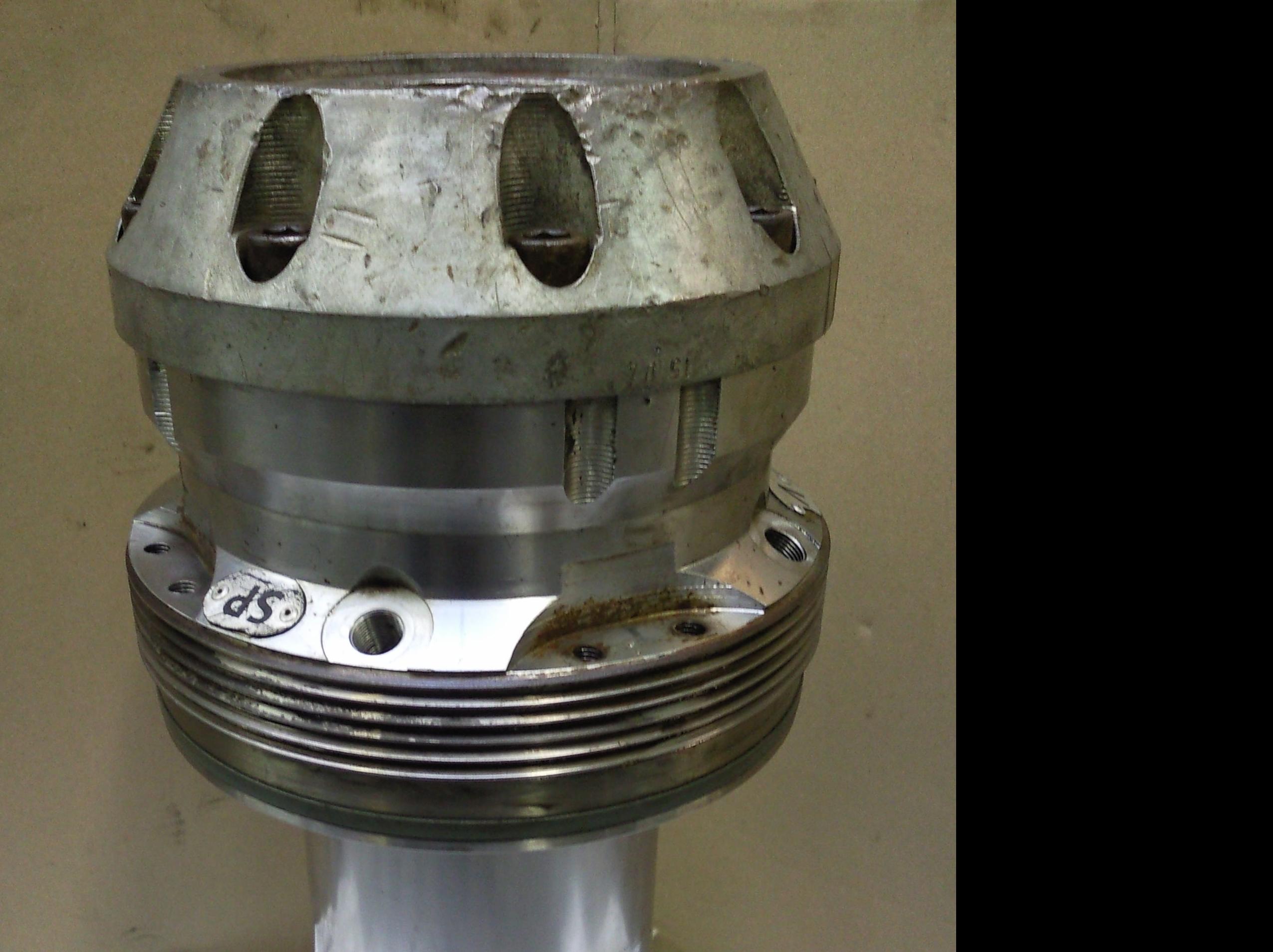 Cabezal de alta presión