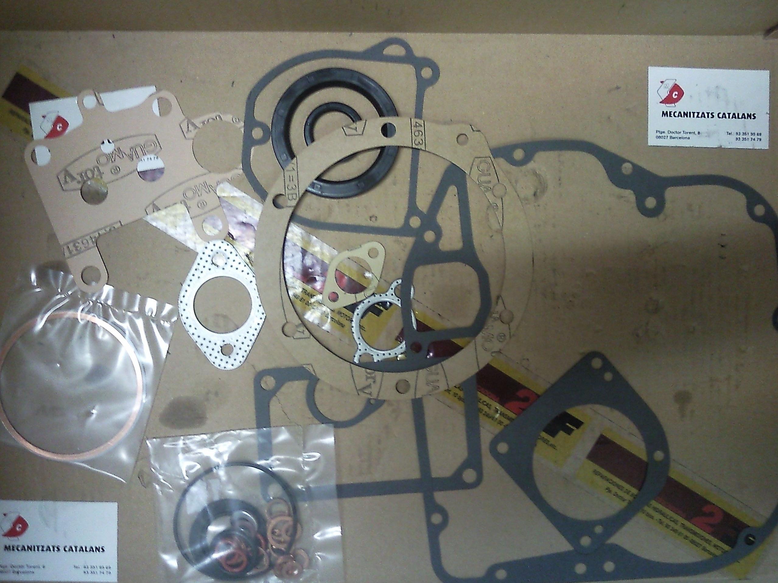 Reparación de motores industriales