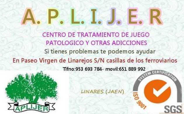 Foto 2 de Asociaciones de ayuda en Linares | A.P.L.I.J.E.R